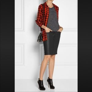 Current/Elliott Stiletto Pencil Skirt Size 28